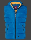 Snowdome Vest Men, PrincessAirTec, Nauticblue