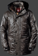 Camaeleon Parka Men, ChangeHiTec, Anthrazit