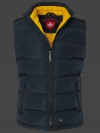 Snowdome Vest Men, PrincessAirTec, Midnightblue