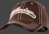Baseball-Cap, Baumwolle, Darkbrown