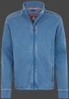 Yacht Jacket Men, French Terry 400, Moonlightblue