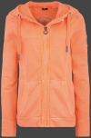 Yacht Hoodie Lady, French Terry 400, Neonpeach