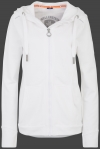 Yacht Hoodie Lady, French Terry 400, White
