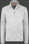 Yacht Jacket Men, French Terry 400, Lightgrey