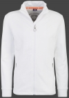 Yacht Jacket Men, French Terry 400, White